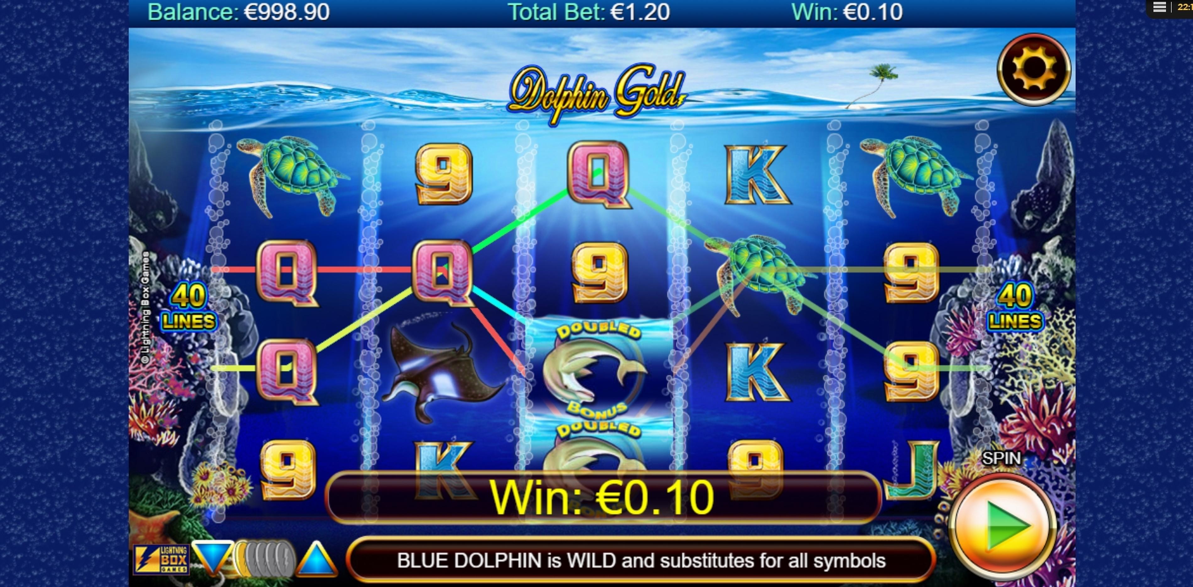 MrSlotty Mobile And Desktop Dolphins Gold Slot