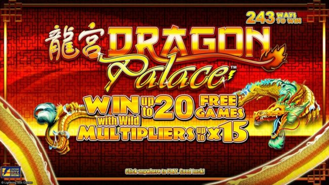 The Dragon Palace Online Slot Demo Game by Lightning Box