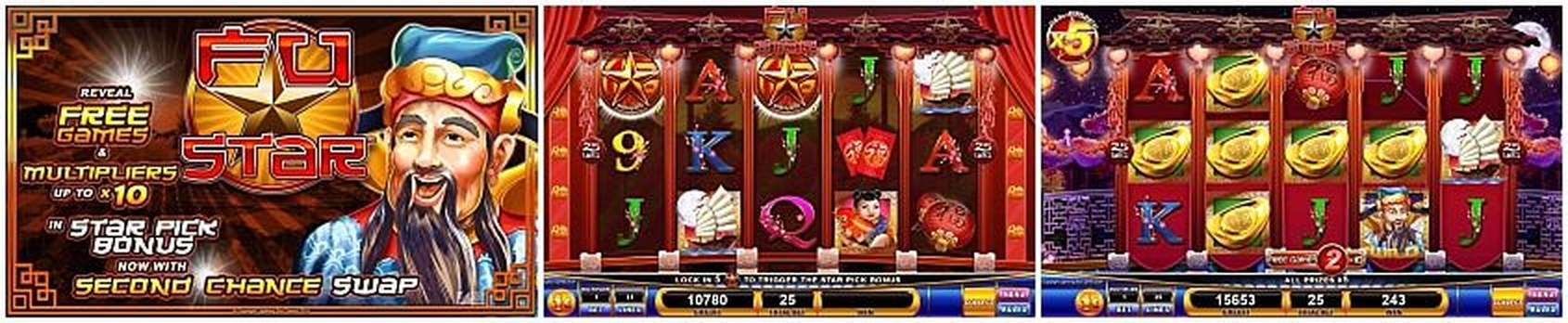 The Fu Star Online Slot Demo Game by Lightning Box