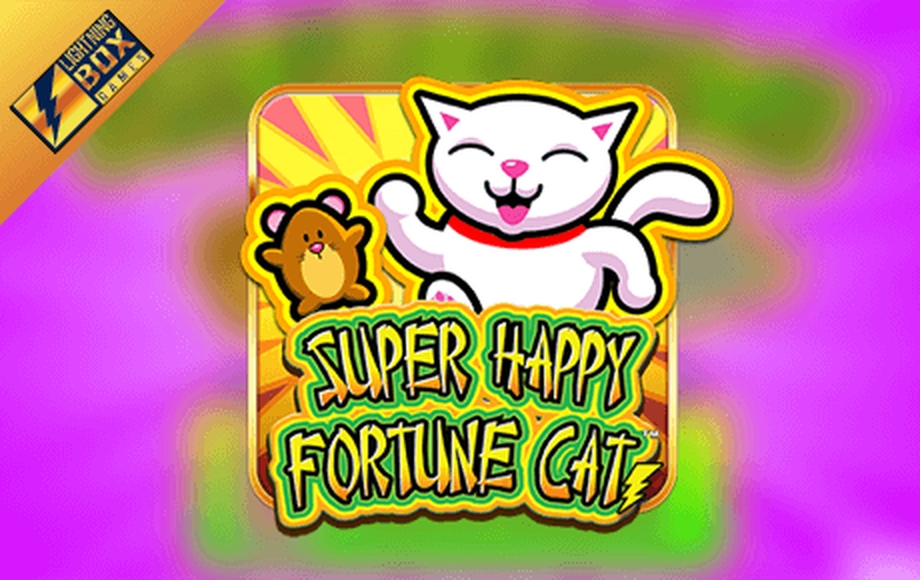 The Super Happy Fortune Cat Online Slot Demo Game by Lightning Box