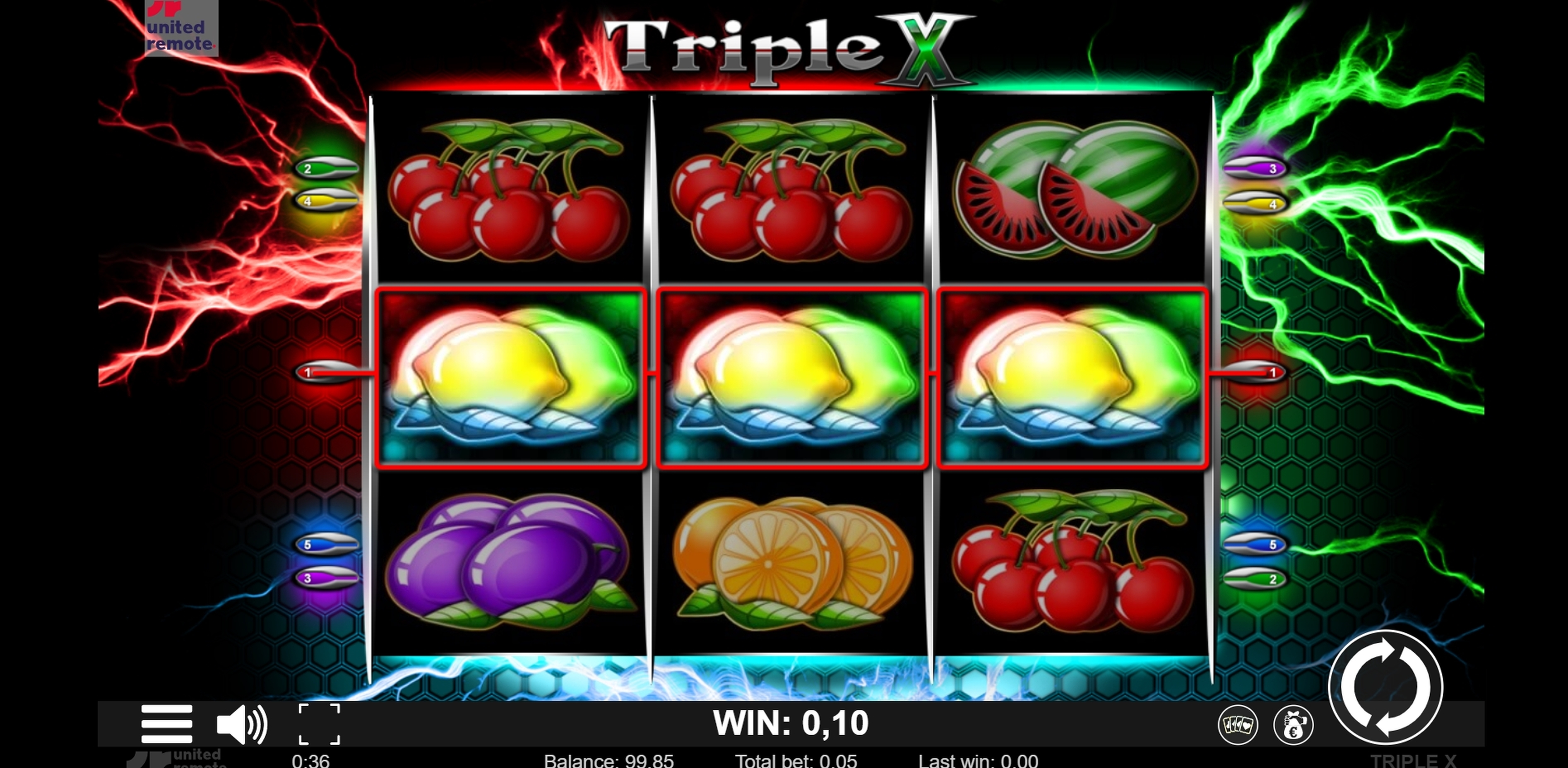 Win Money in Triple X Free Slot Game by Lionline