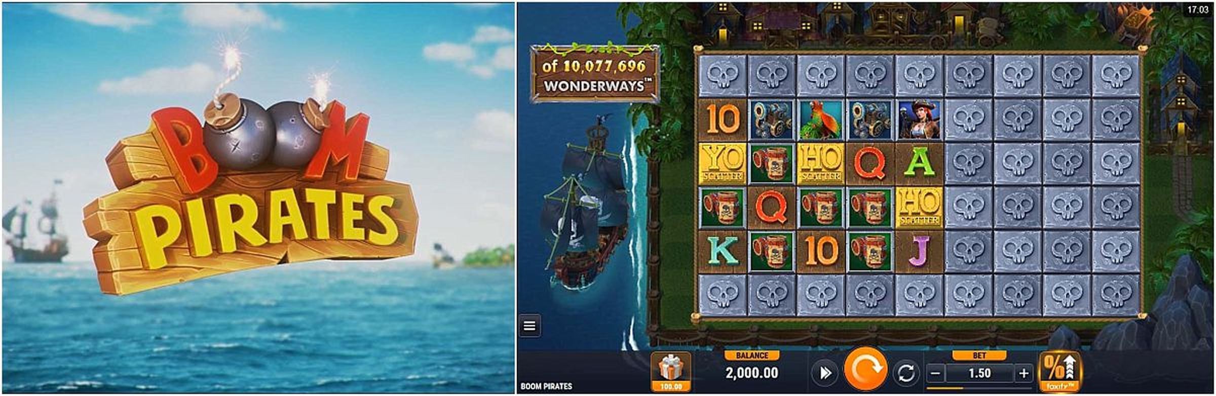 The Pirate Cash Online Slot Demo Game by Magic Dreams