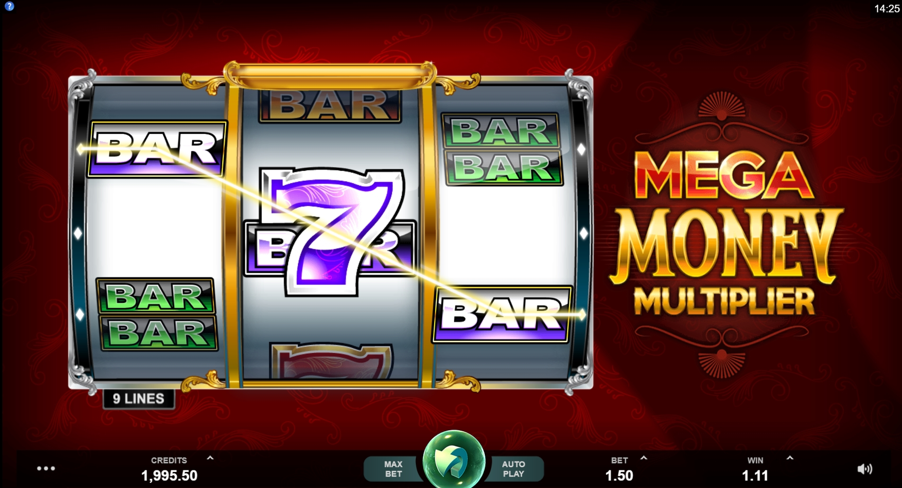Win Money in Mega Money Multiplier Free Slot Game by MahiGaming