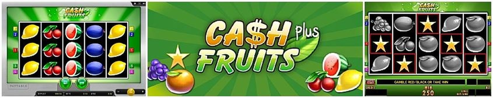 The Cash Fruits Plus (Merkur) Online Slot Demo Game by Merkur Gaming