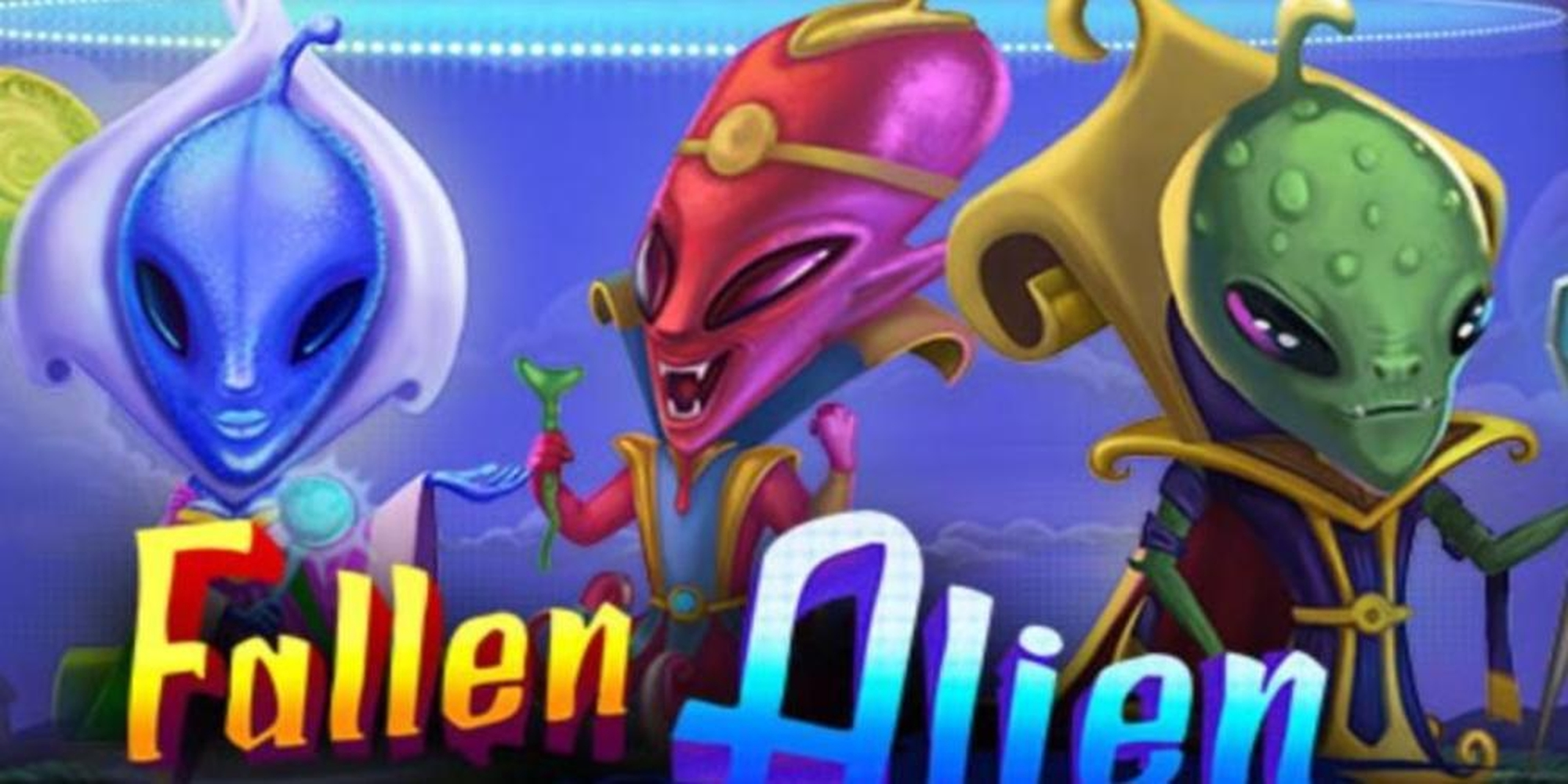 The Fallen Alien Online Slot Demo Game by Merkur Gaming