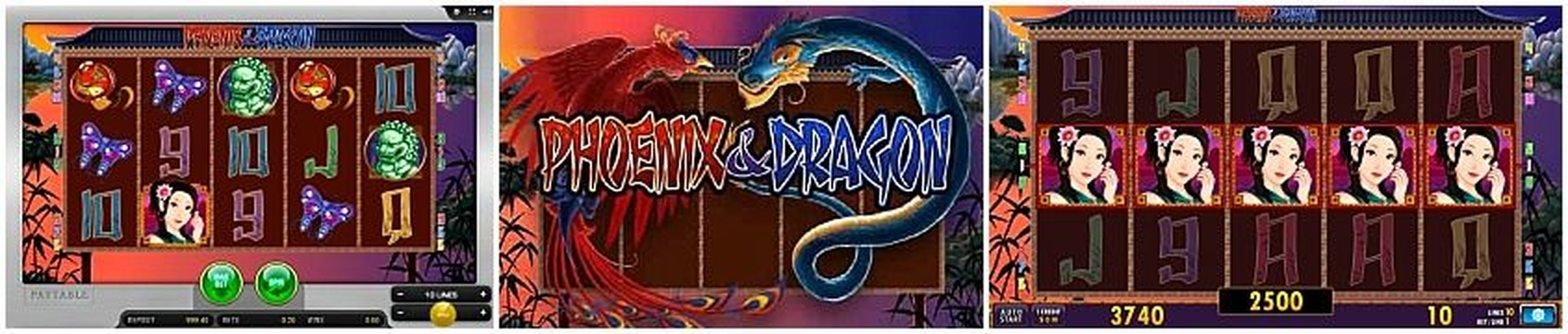The Phoenix & Dragon HD Online Slot Demo Game by Merkur Gaming