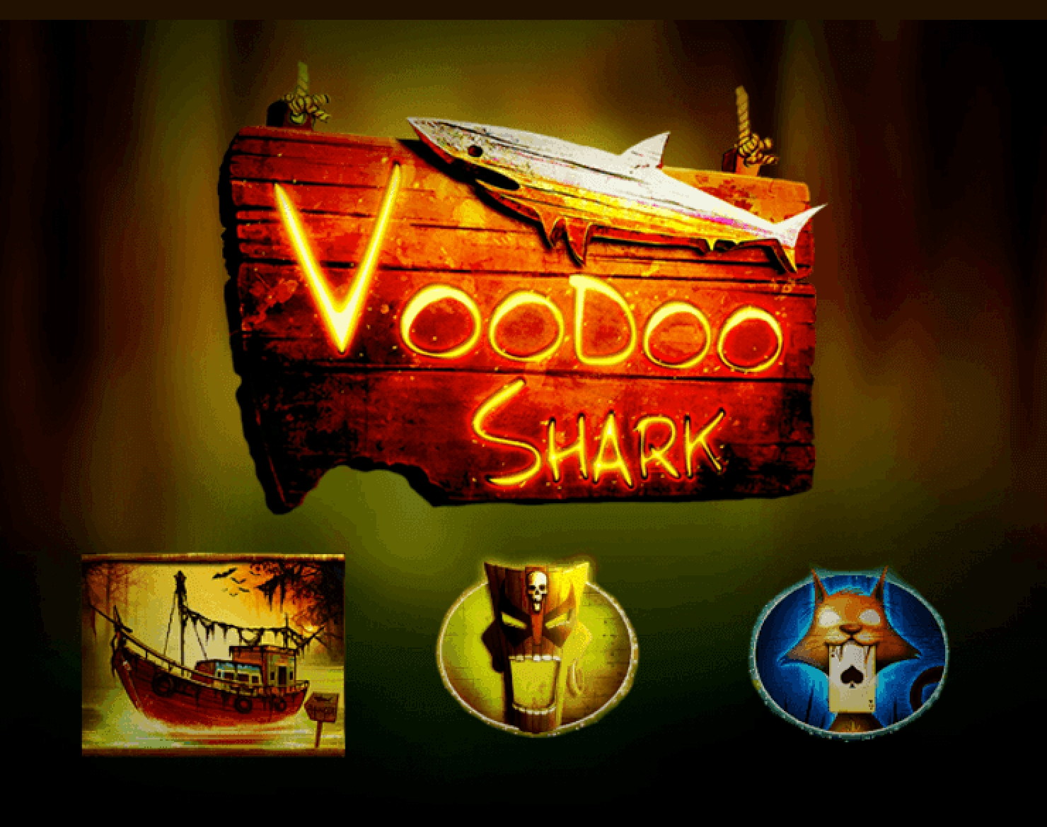 The Voodoo Shark Online Slot Demo Game by Merkur Gaming