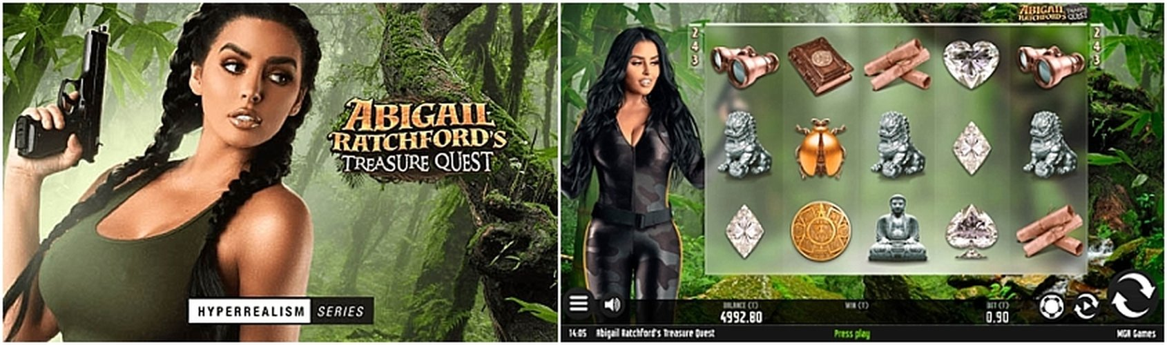 The Abigail Ratchfords Treasure Quest Online Slot Demo Game by MGA
