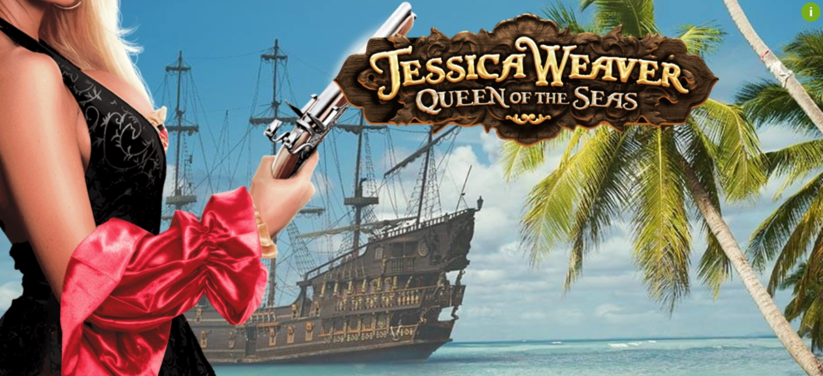Jessica Weaver Queen of the Seas Online Slot Demo Game by MGA