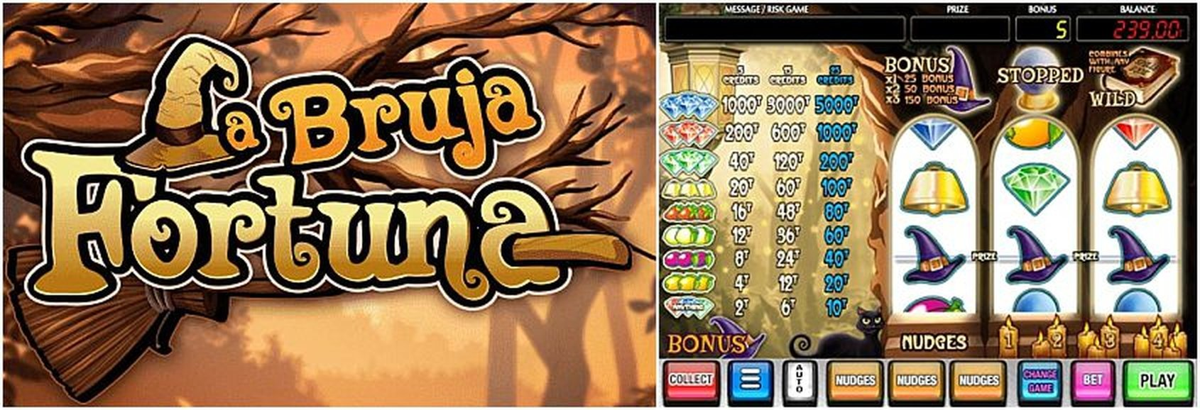 The La Bruja Fortuna Online Slot Demo Game by MGA