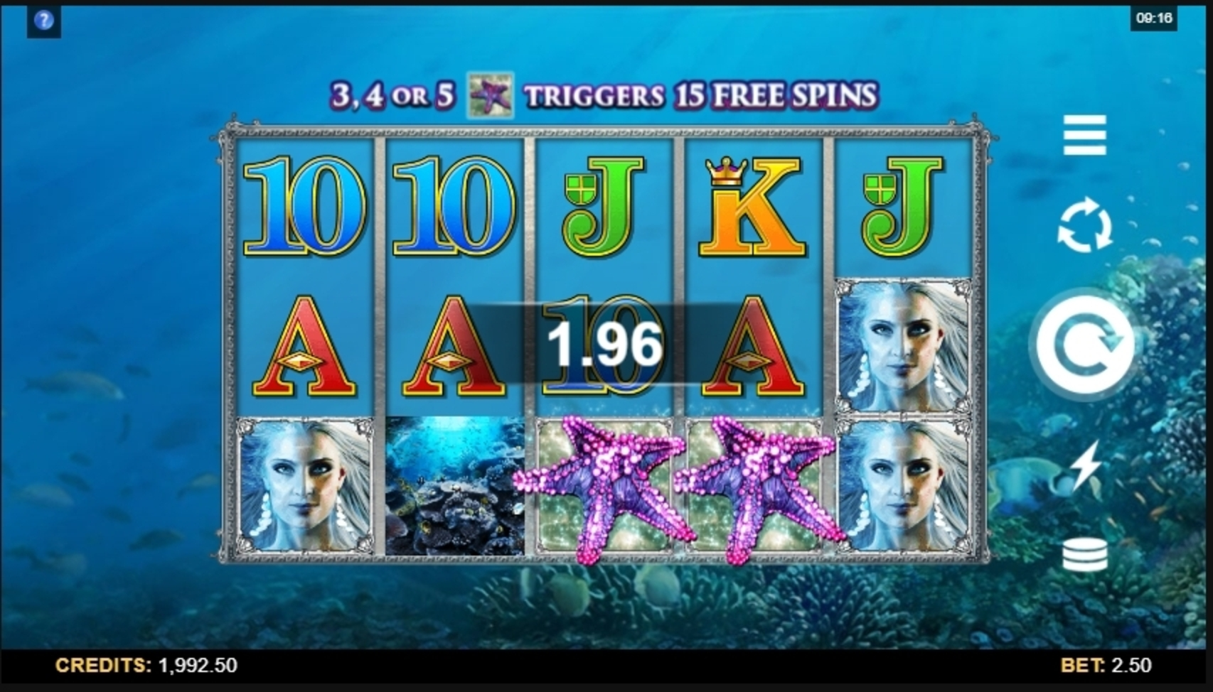 Win Money in Ariana Free Slot Game by Microgaming