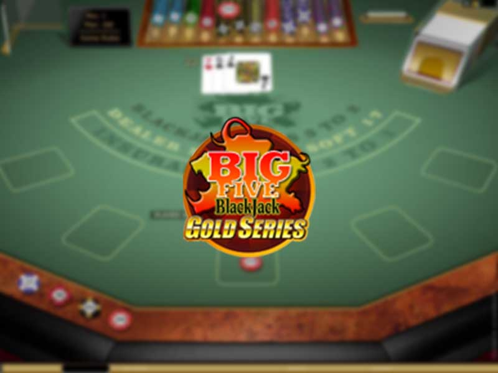 The Big 5 Blackjack Gold Online Slot Demo Game by Microgaming