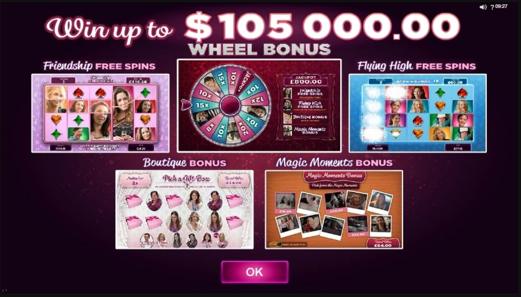 Play Bridesmaids Free Casino Slot Game by Microgaming