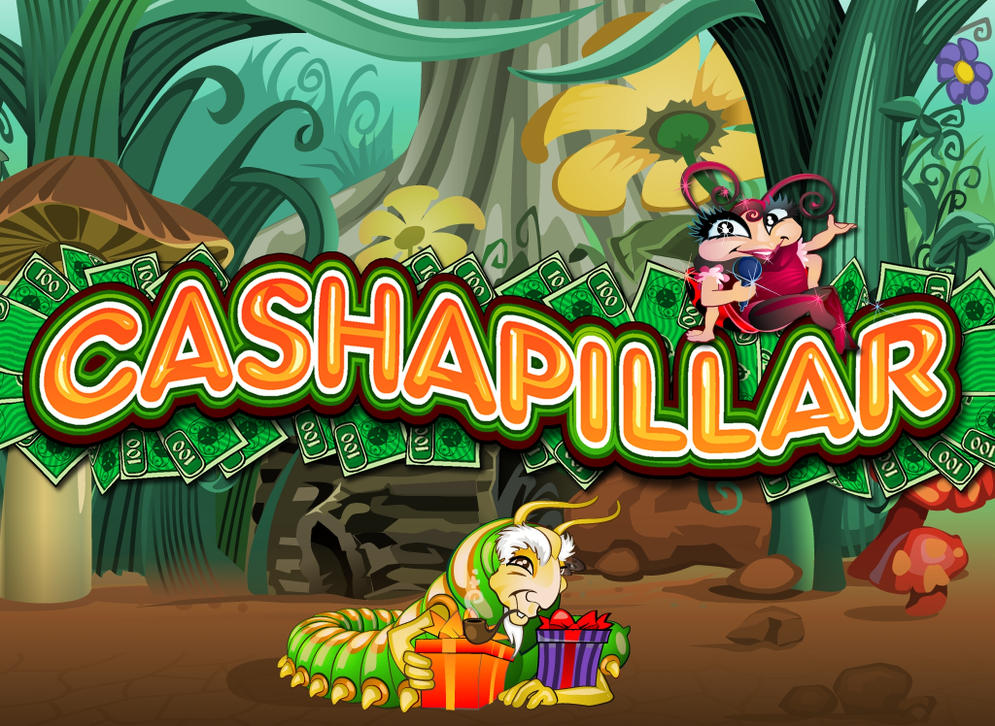 The Cashapillar Scratch Card Online Slot Demo Game by Microgaming