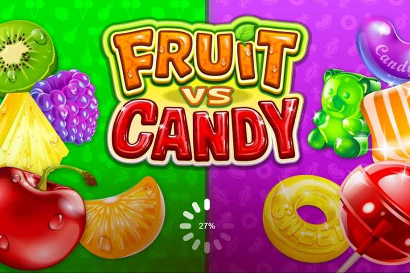 The Fruit vs Candy Online Slot Demo Game by Microgaming