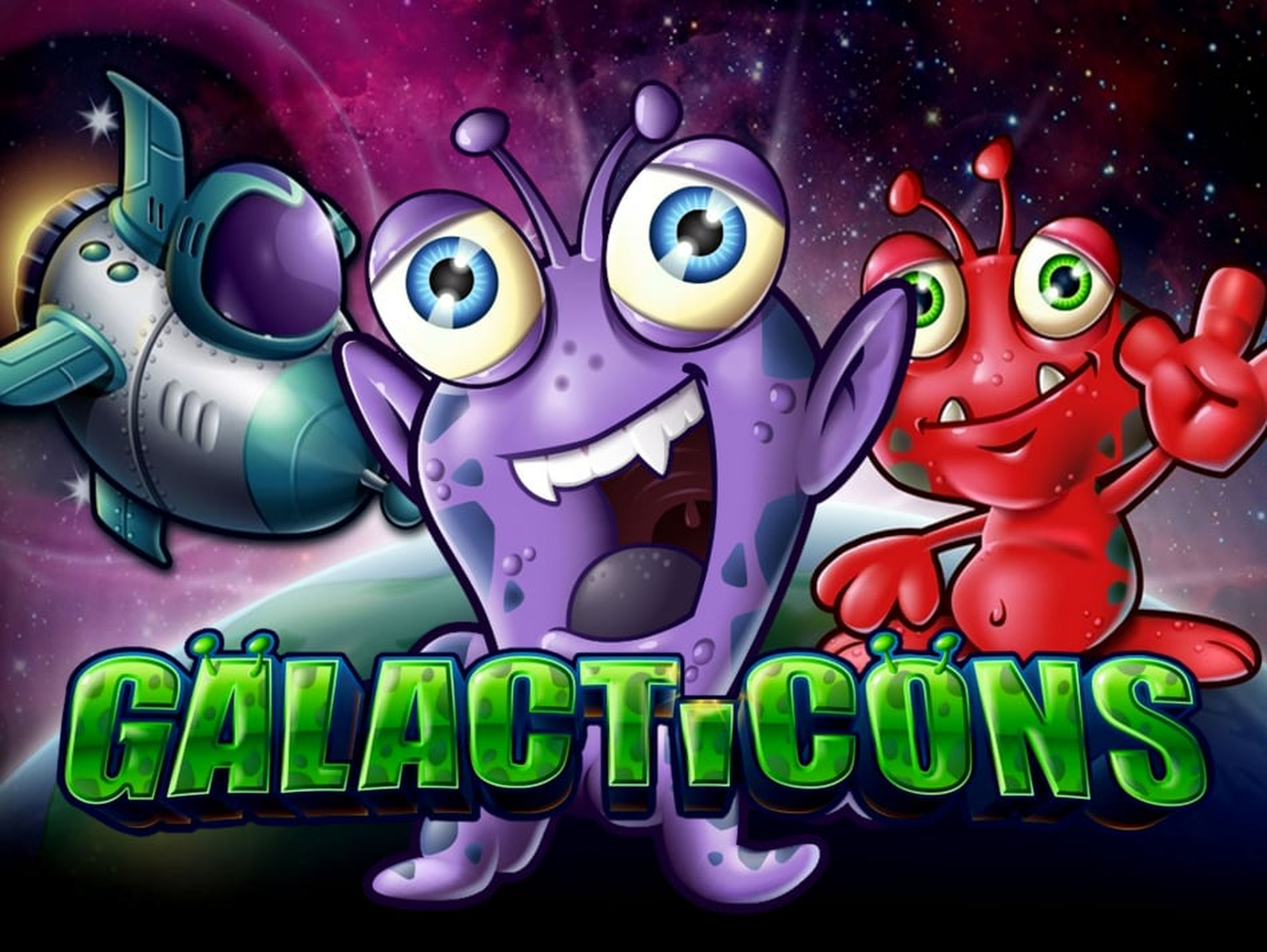 The Galacticons Online Slot Demo Game by Microgaming