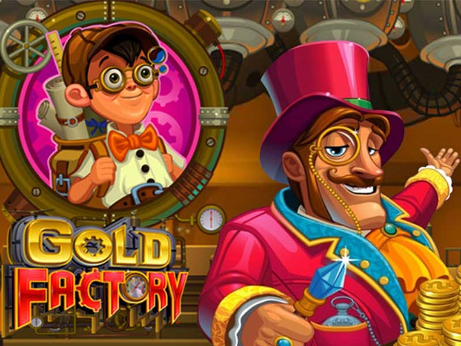 Gold Factory Online Slot Demo Game by Microgaming