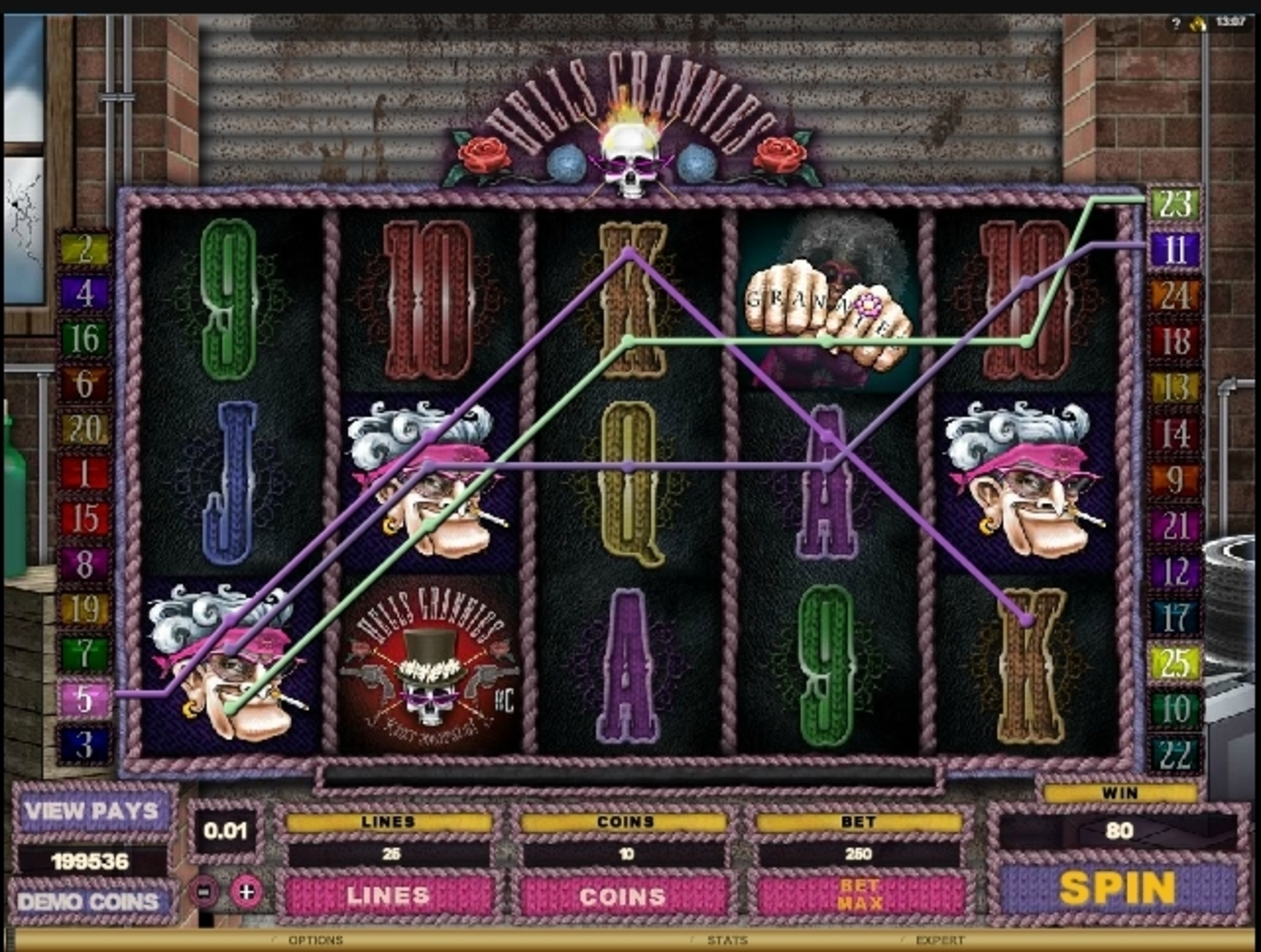 Win Money in Hells Grannies Free Slot Game by Microgaming