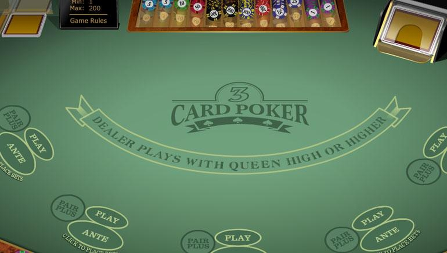 The High Speed Poker MH (Microgaming) Online Slot Demo Game by Microgaming