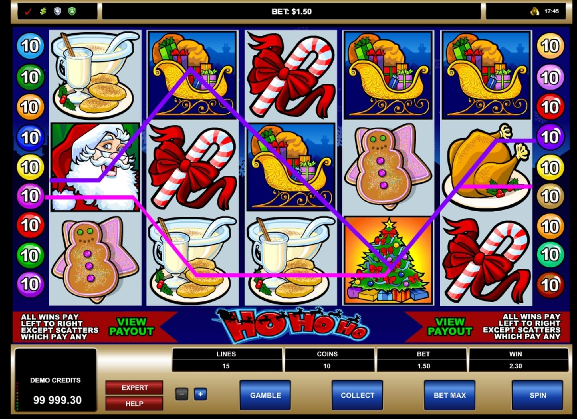 Roys Free Slot Ho Ho Ho