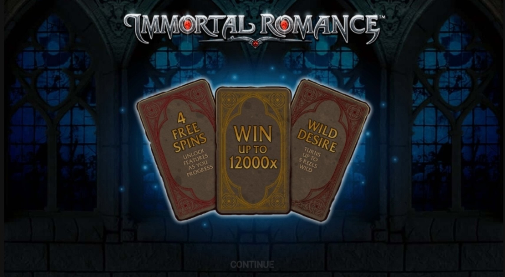 Play Immortal Romance Free Casino Slot Game by Microgaming
