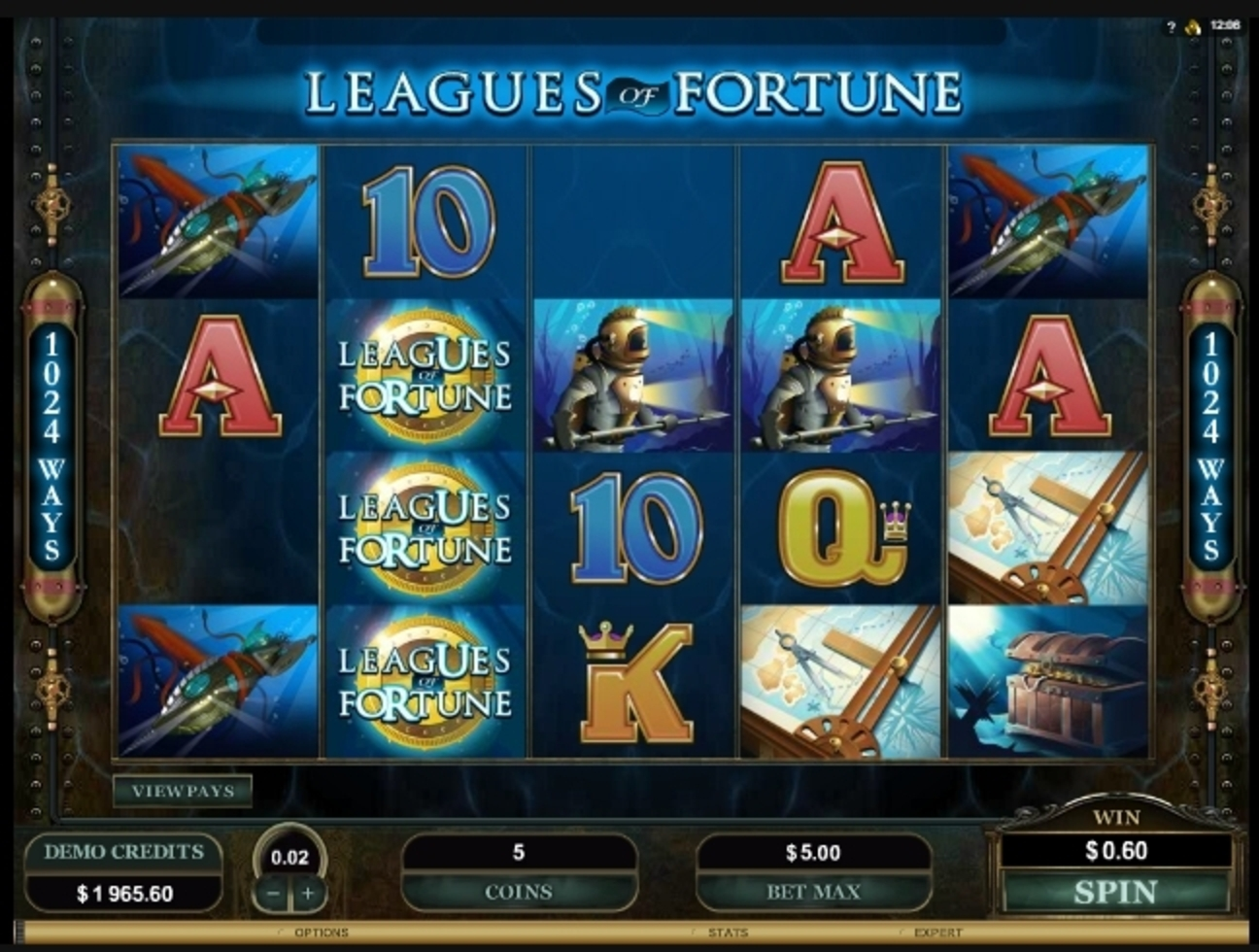 Win Money in Leagues of Fortune Free Slot Game by Microgaming