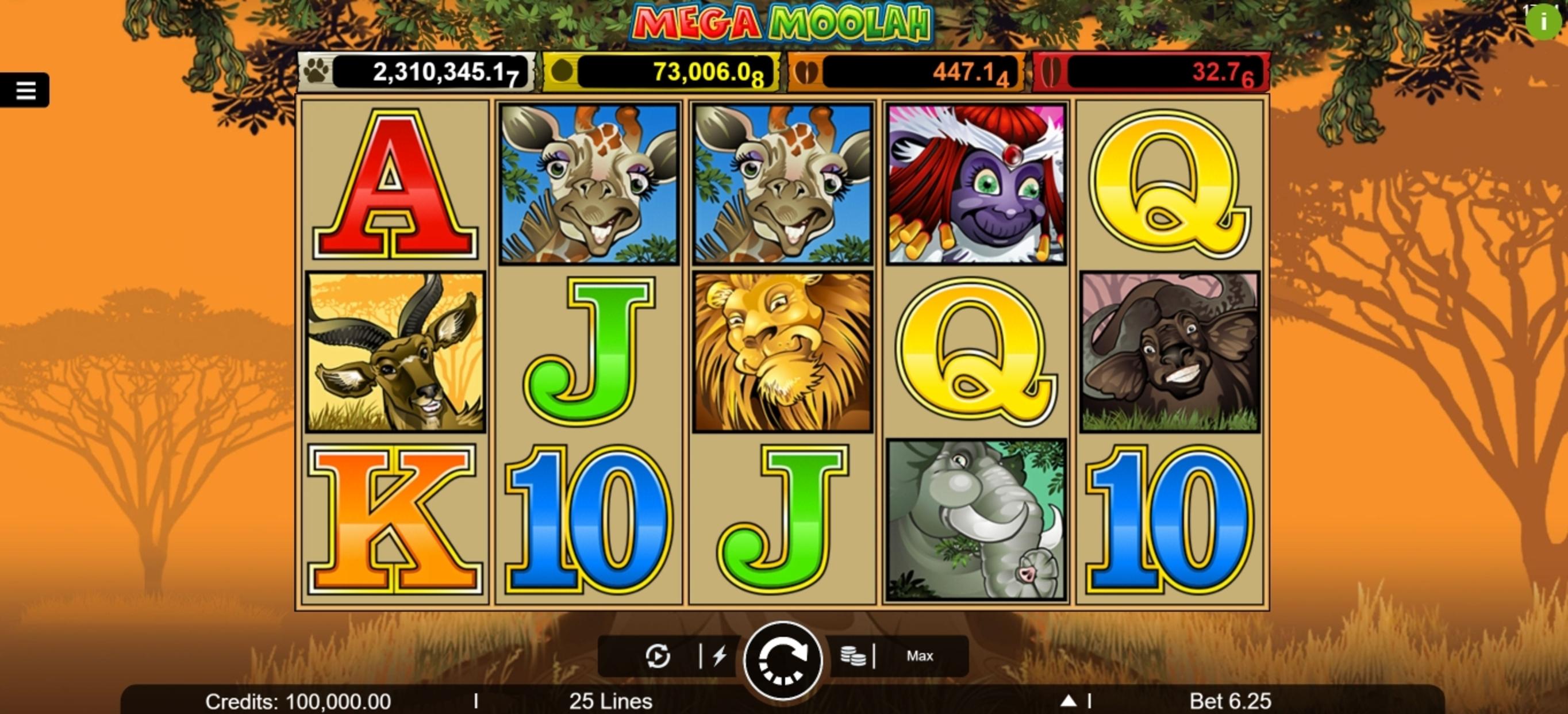 Mega Moolah Slot Demo