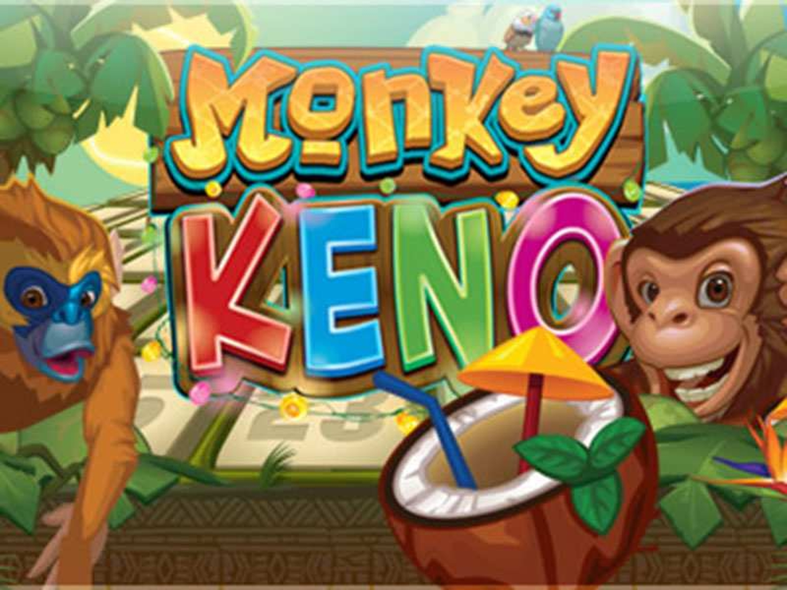 The Monkey Keno Online Slot Demo Game by Microgaming