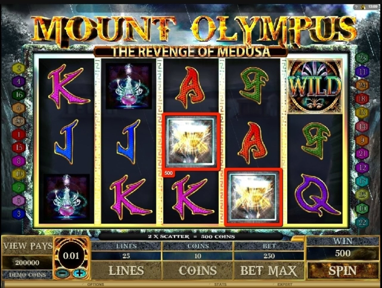 Win Money in Mount Olympus Free Slot Game by Microgaming