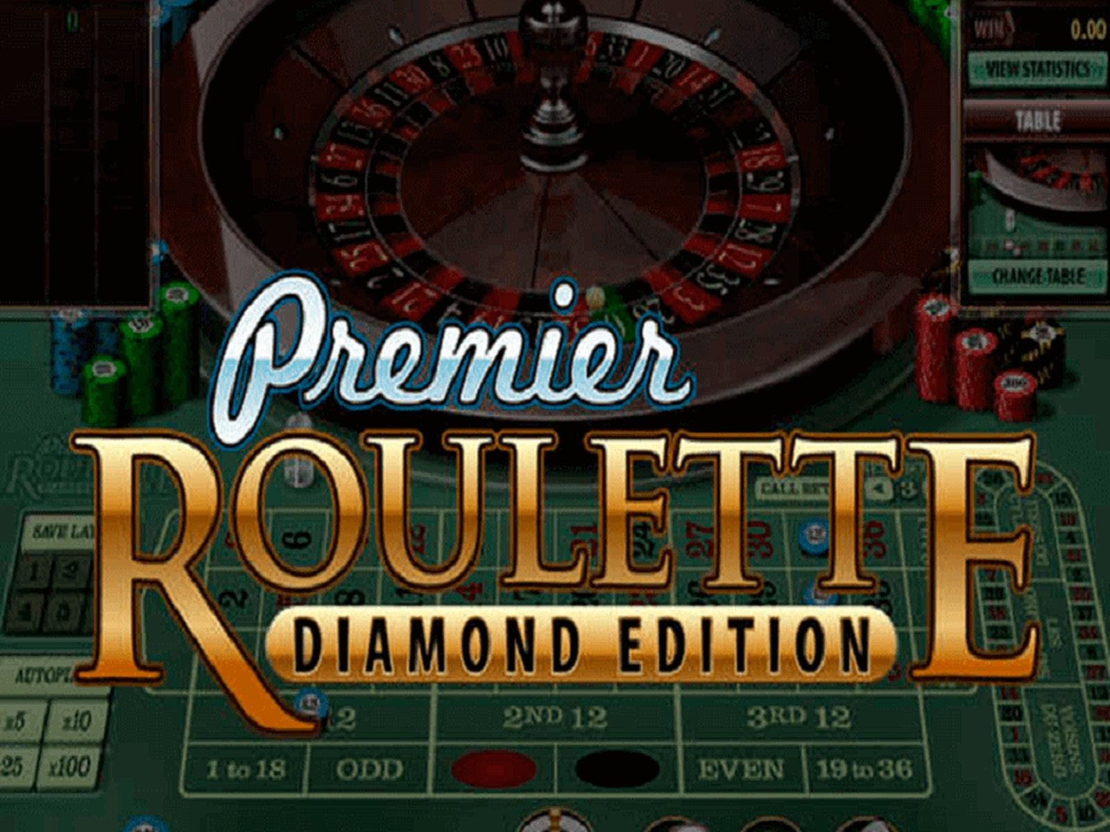 The Premier Roulette Diamond Edition Online Slot Demo Game by Microgaming
