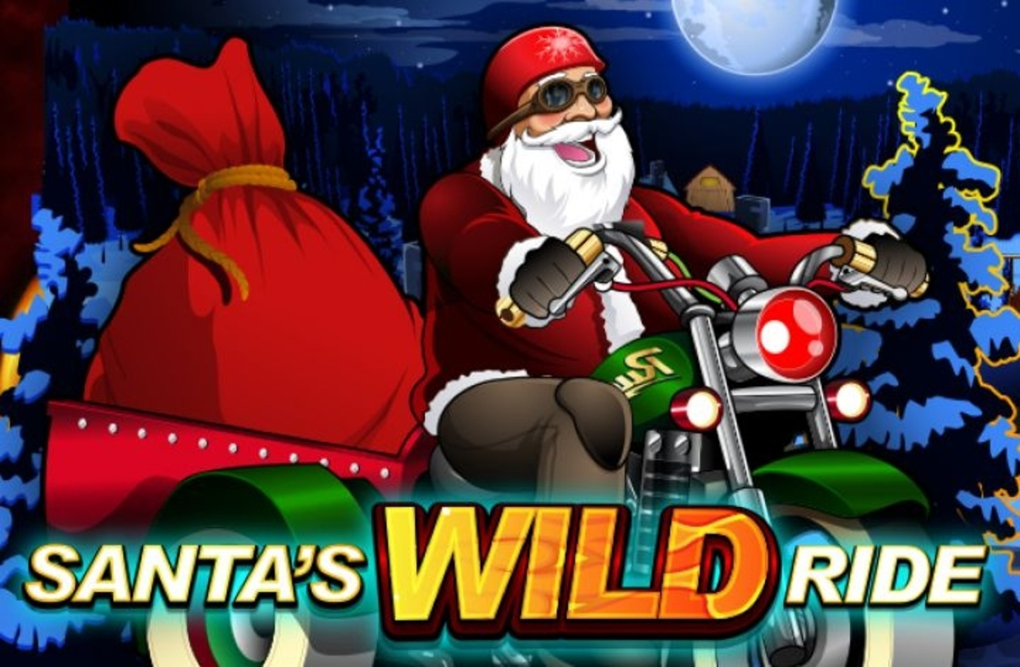 Santa's Wild Ride Online Slot Demo Game by Microgaming