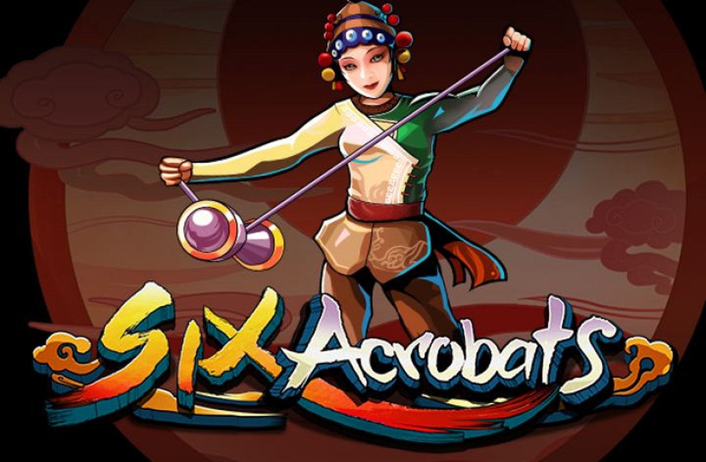 The Six Acrobats Online Slot Demo Game by Microgaming