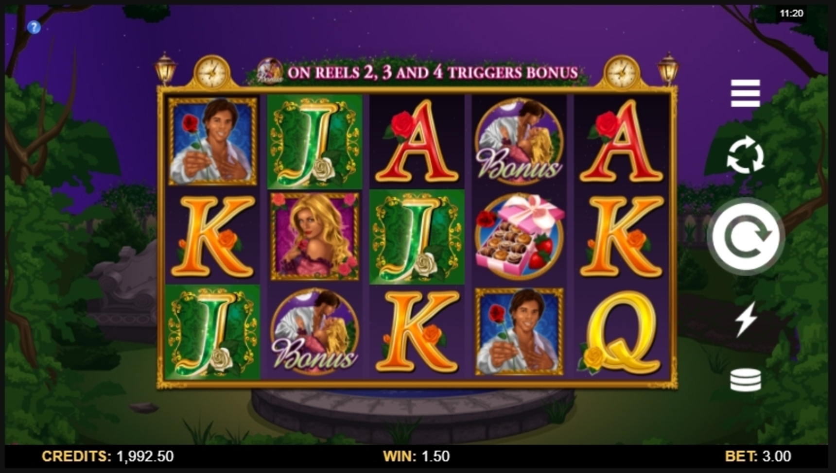 Win Money in Starlight Kiss Free Slot Game by Microgaming