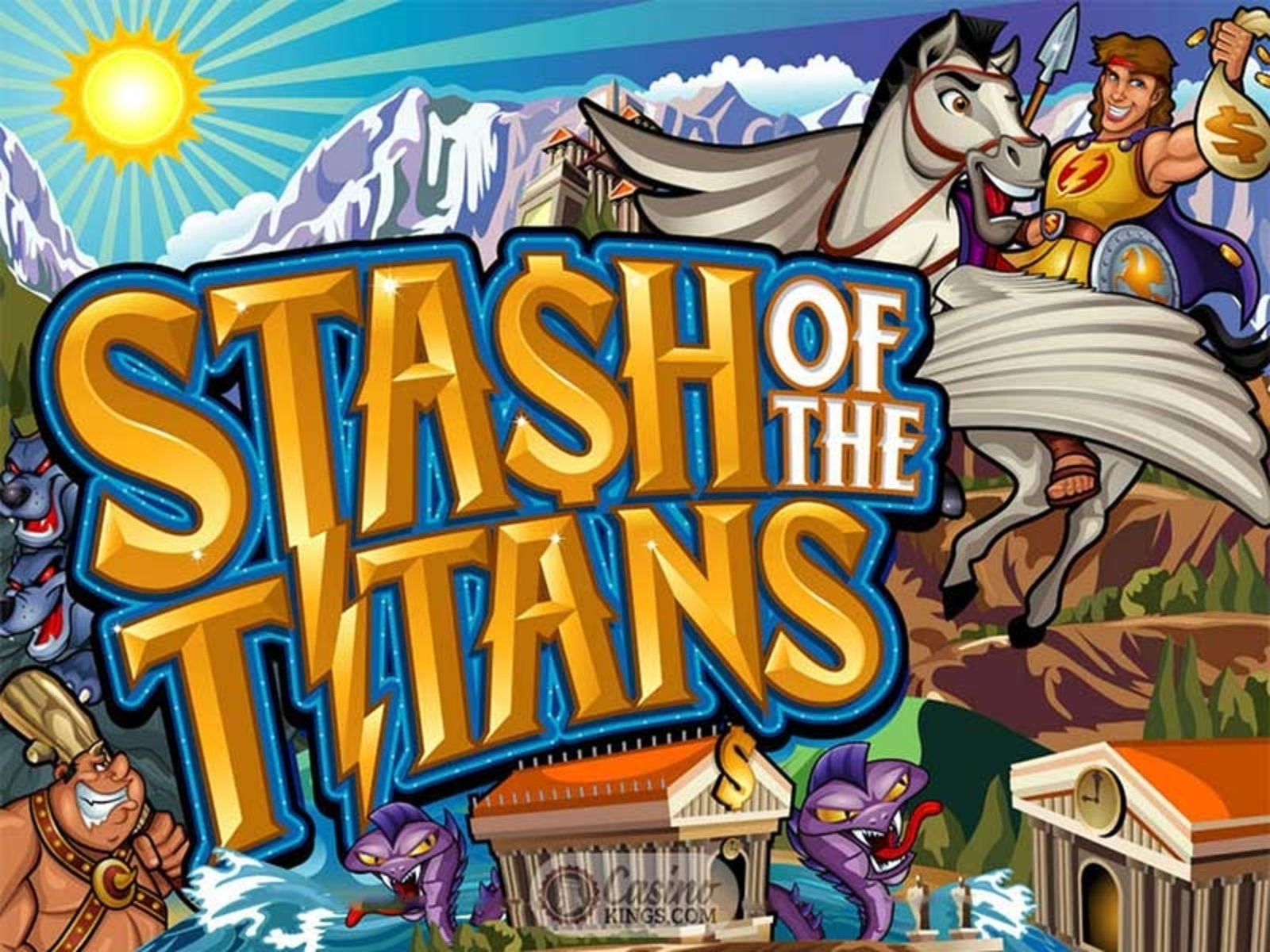 Stash of the Titans Online Slot Demo Game by Microgaming