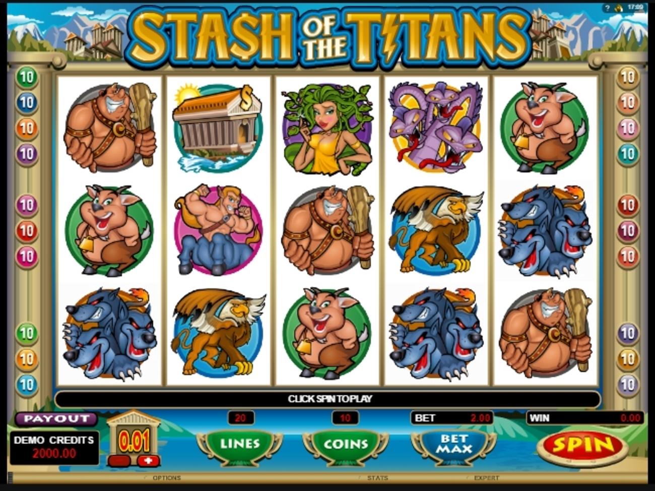 Stash of the Titans Slot Machine