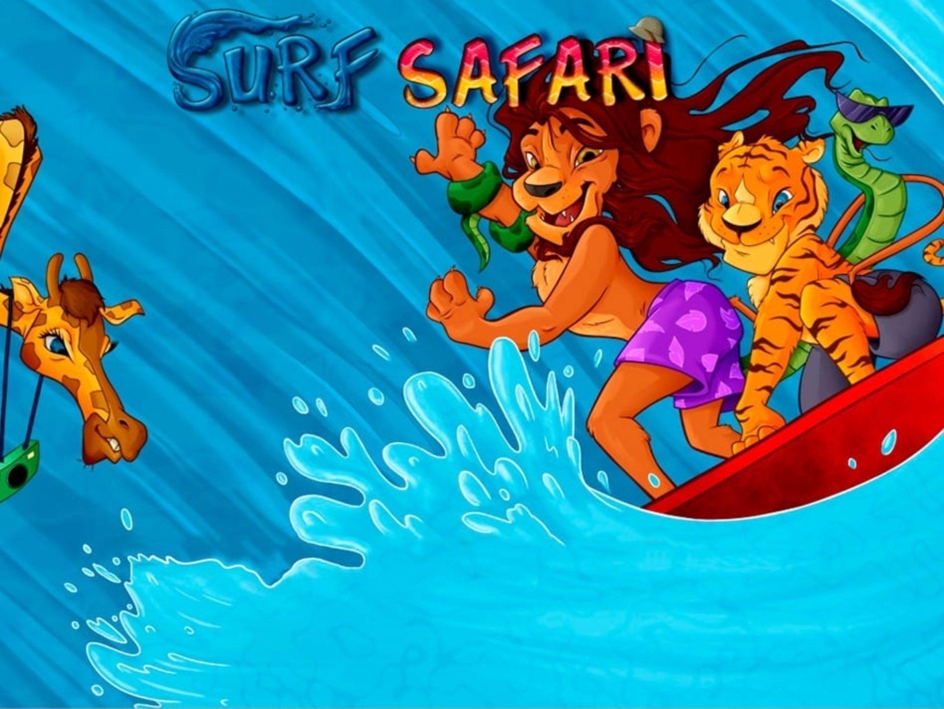 The Surf Safari Online Slot Demo Game by Microgaming