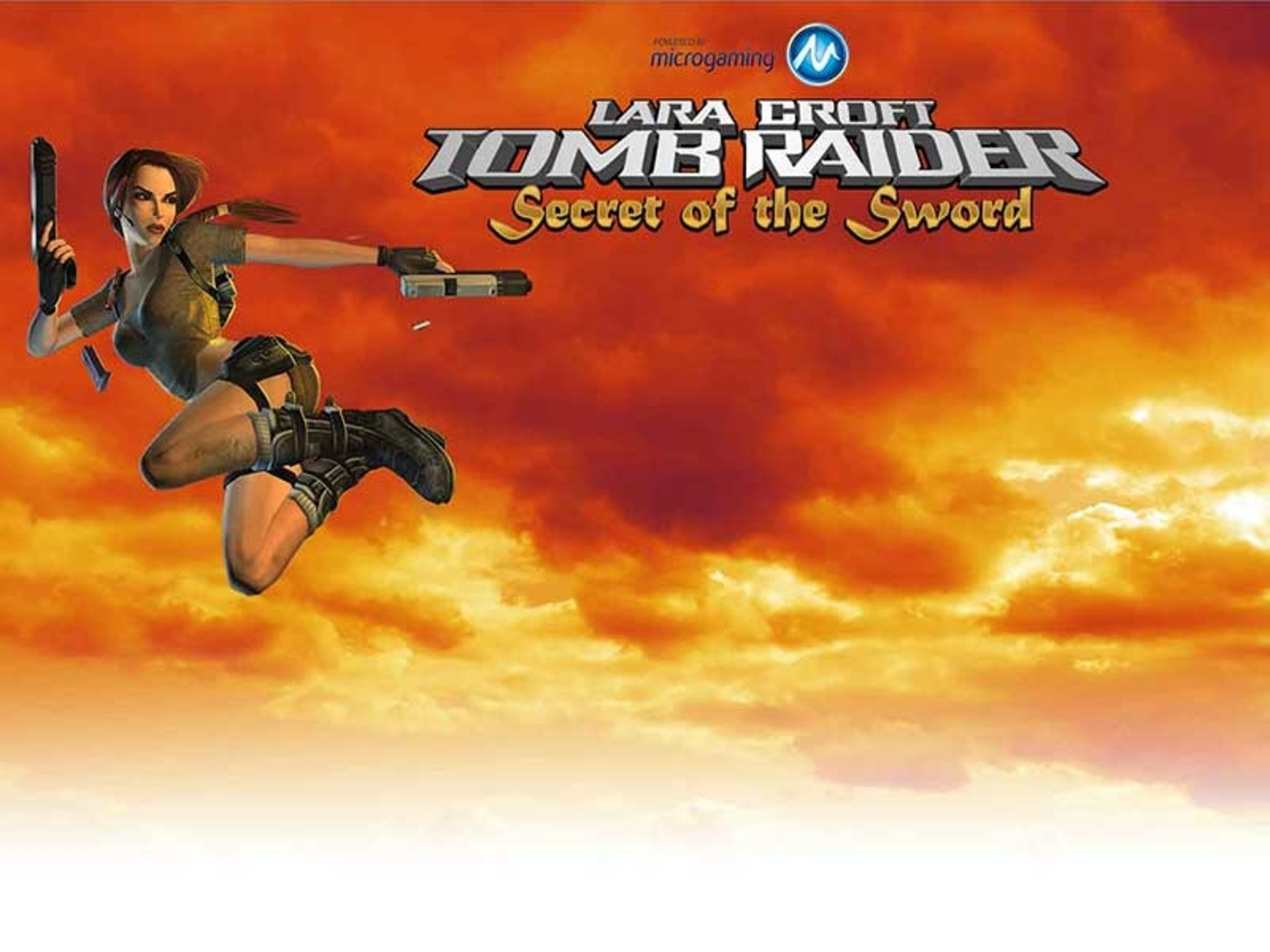 Tomb Raider Secret of the Sword Online Slot Demo Game by Microgaming