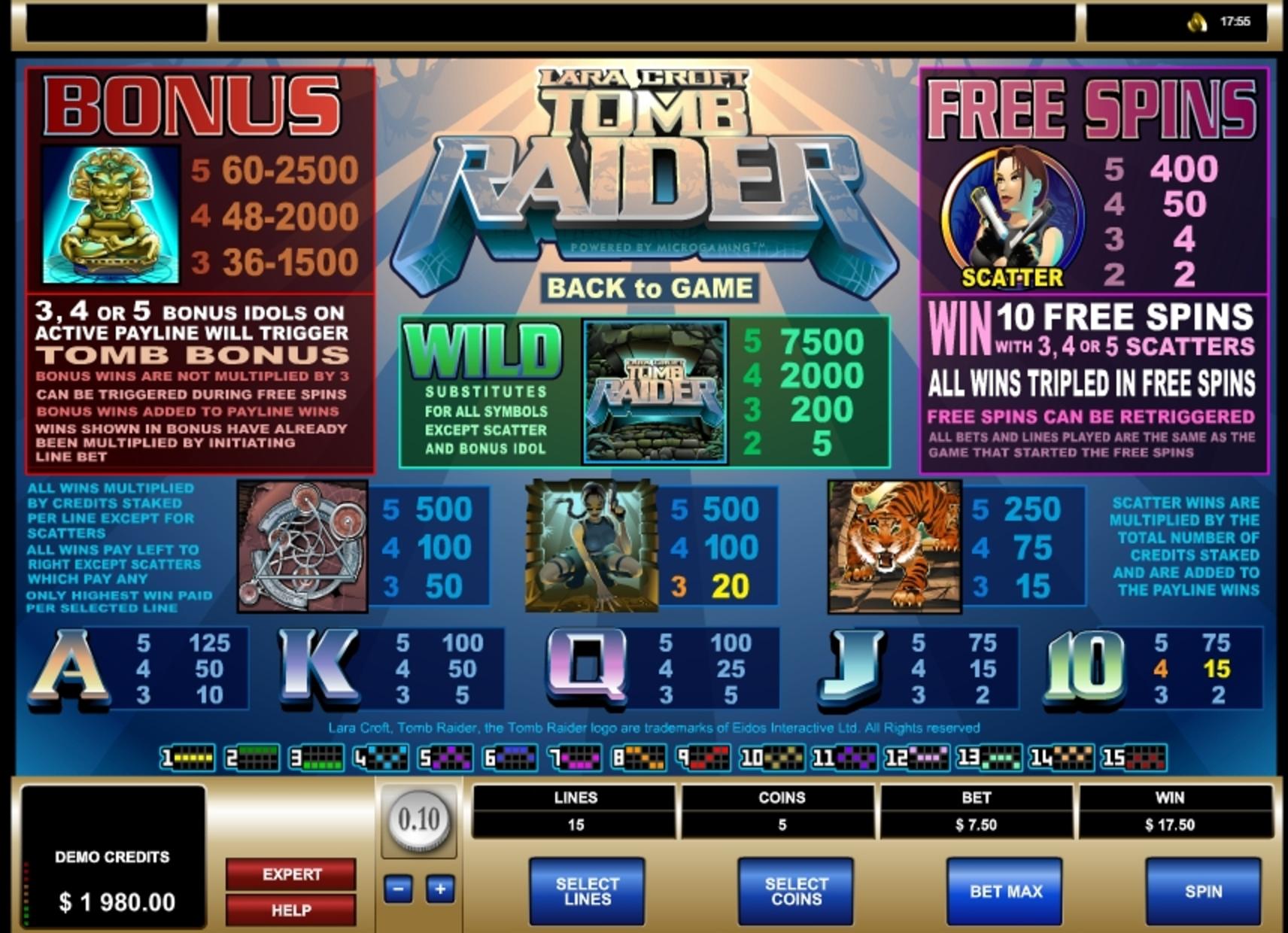 Rocky Reactors No Download Slot Game