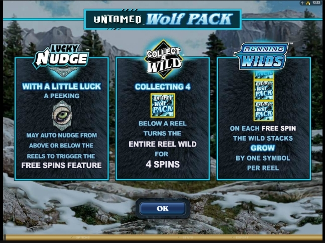 Play Untamed Wolf Pack Free Casino Slot Game by Microgaming
