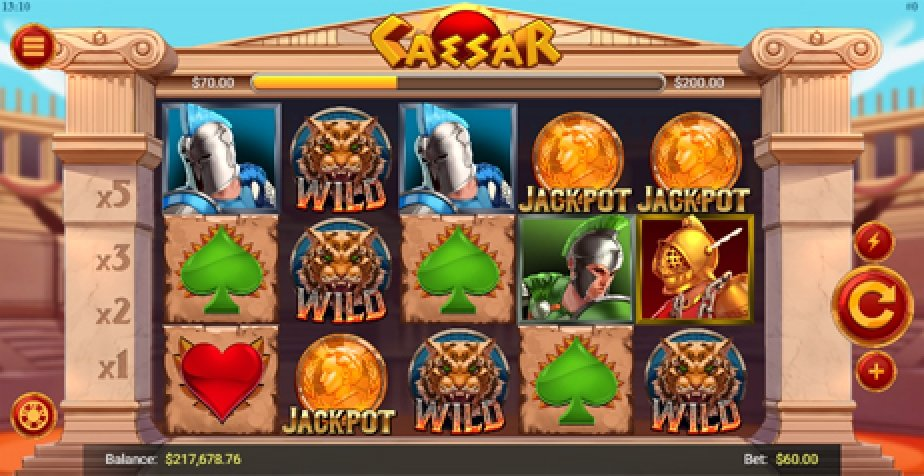 Caesar (Mobilots) Online Slot Demo Game by Mobilots