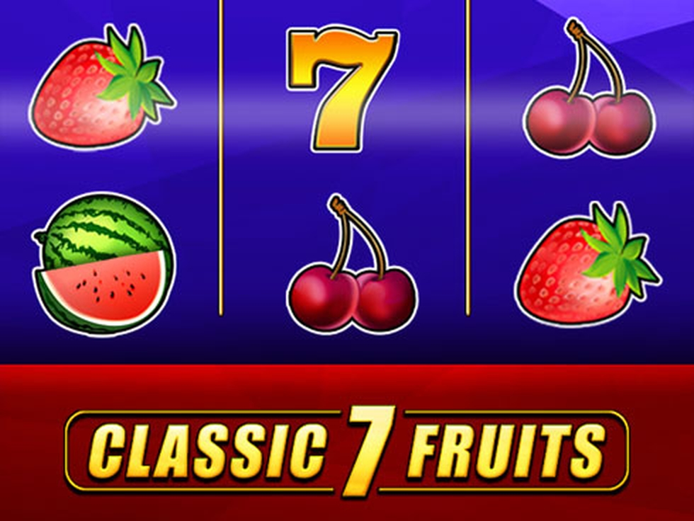 Classic 7 Fruits Online Slot Demo Game by Mr Slotty