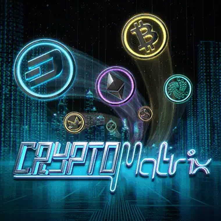 The CryptoMatrix Online Slot Demo Game by Mr Slotty