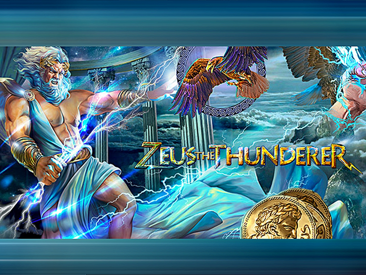 The Zeus the Thunderer Online Slot Demo Game by Mr Slotty