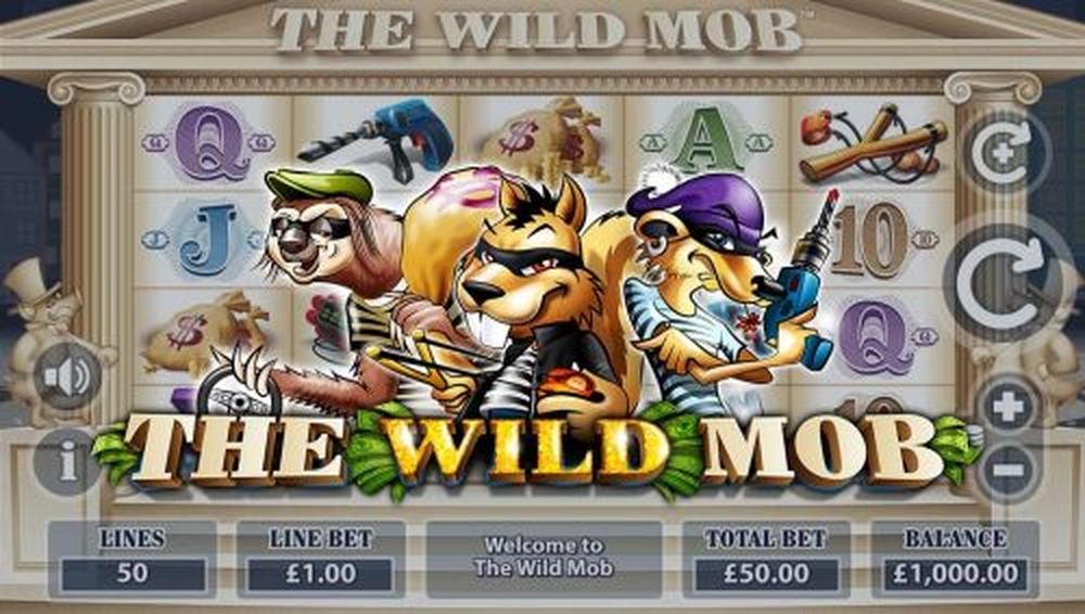 The The Wild Mob Online Slot Demo Game by Mutuel Play