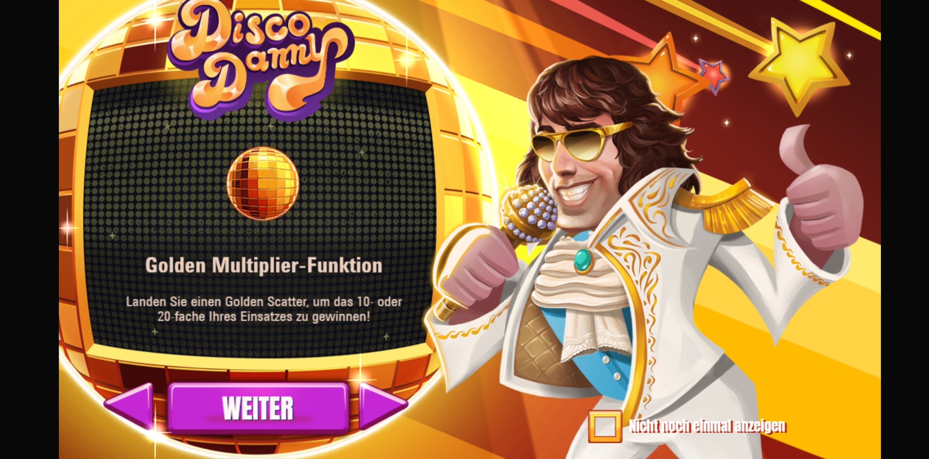 Play Disco Danny Free Casino Slot Game by NetEnt