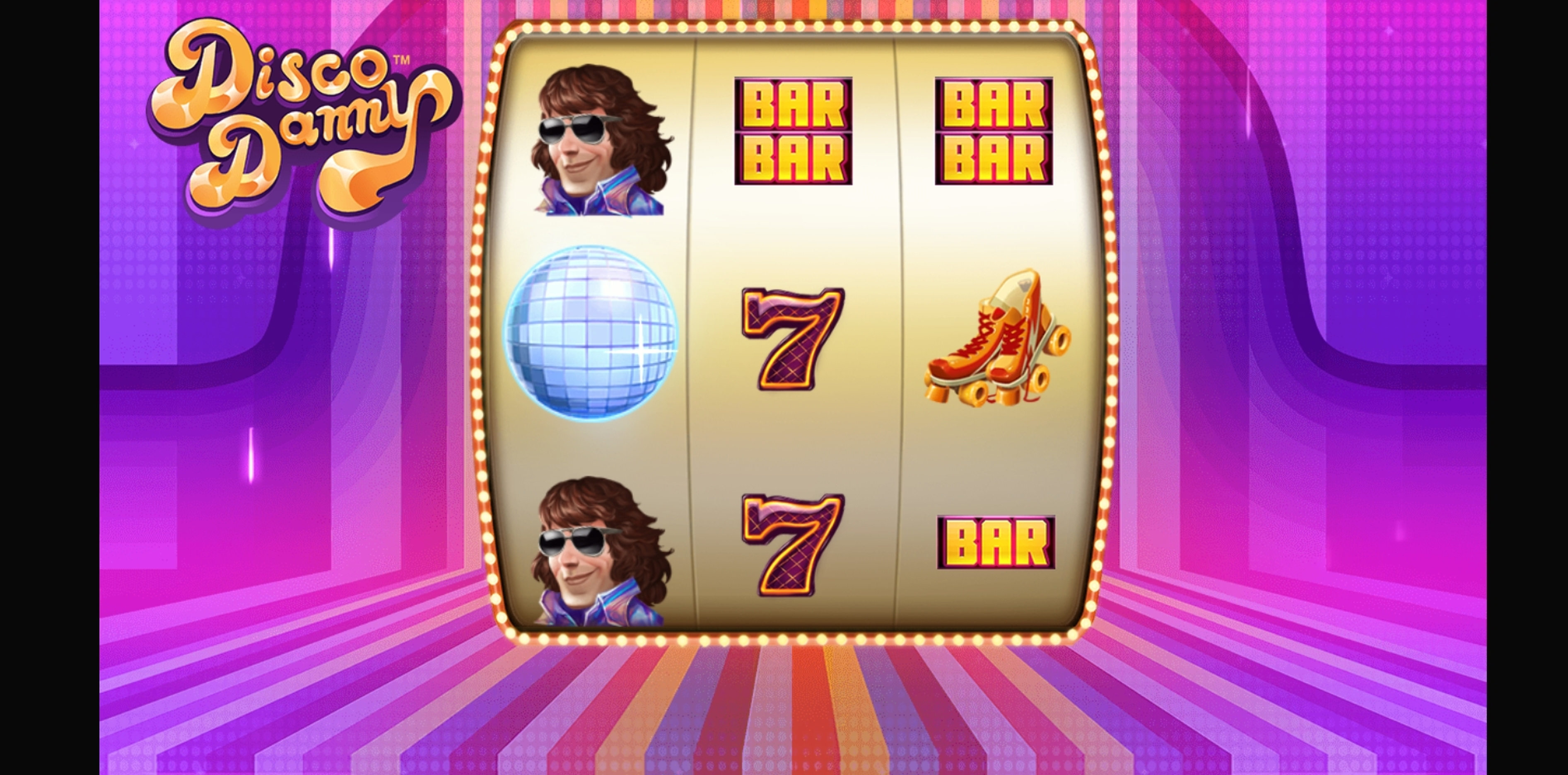 Reels in Disco Danny Slot Game by NetEnt