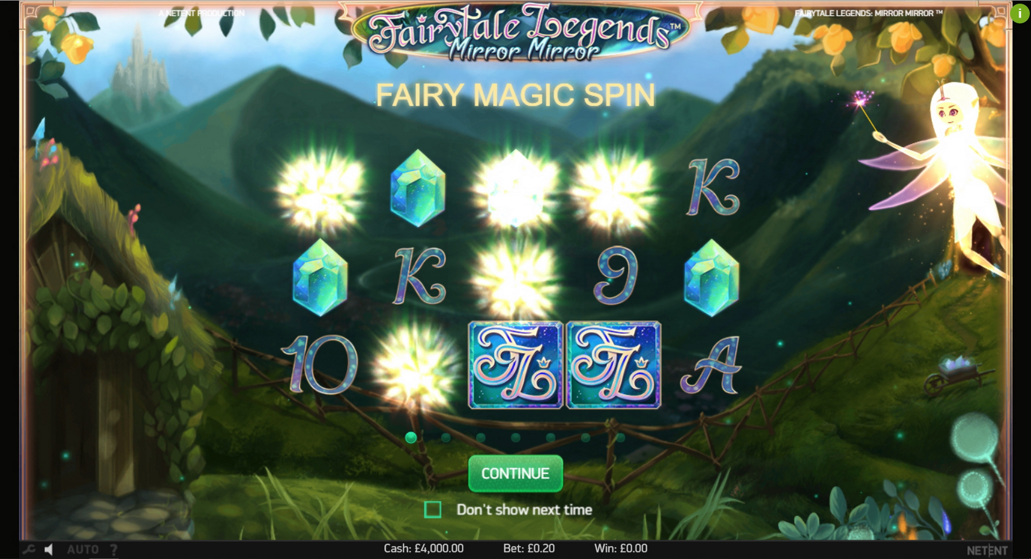 Play Fairytale Legends: Mirror Mirror (NetEnt) Free Casino Slot Game by NetEnt