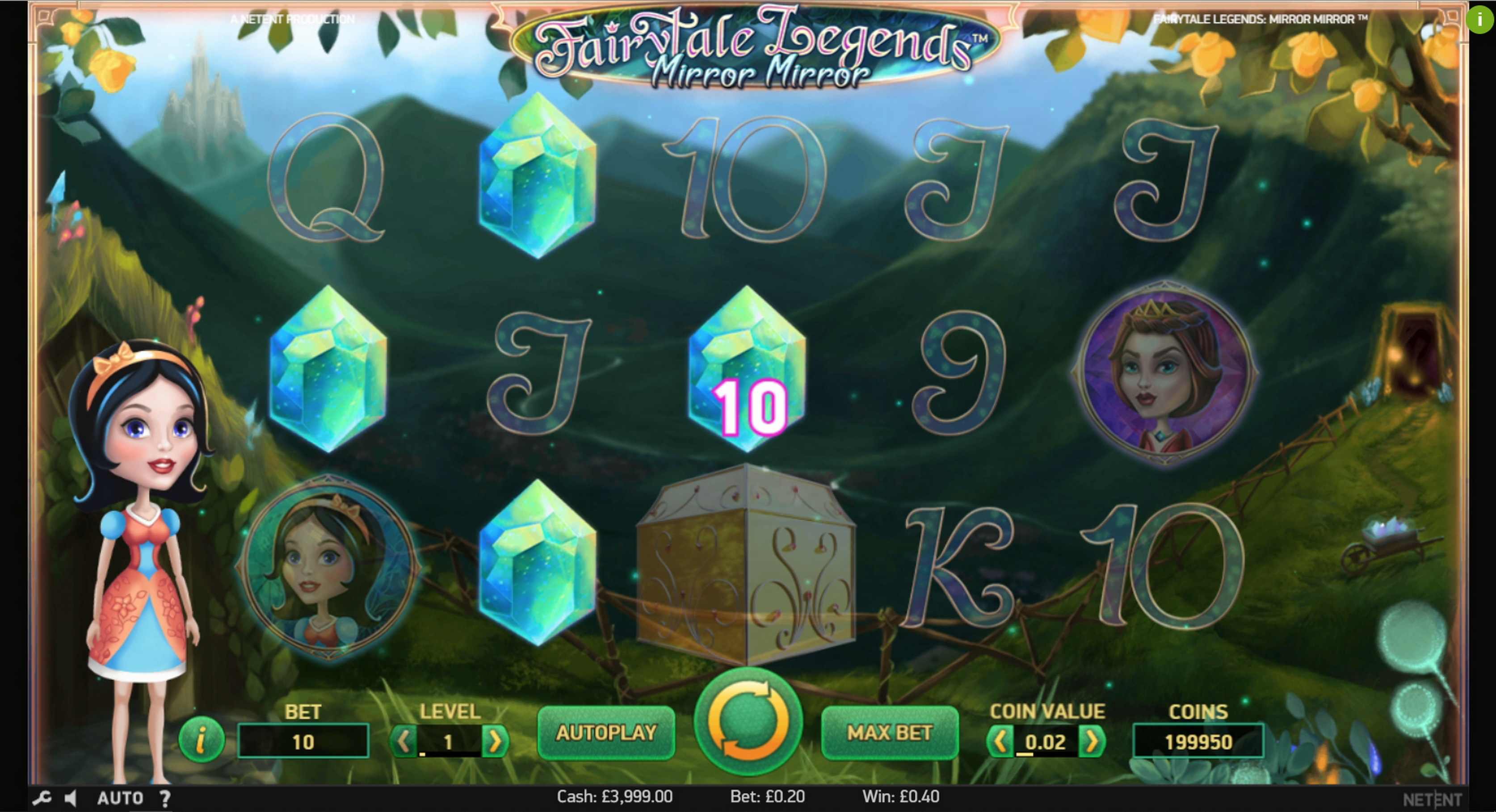 Win Money in Fairytale Legends: Mirror Mirror (NetEnt) Free Slot Game by NetEnt
