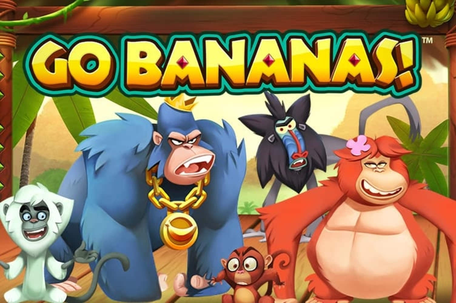 Go Bananas Online Slot Demo Game by NetEnt