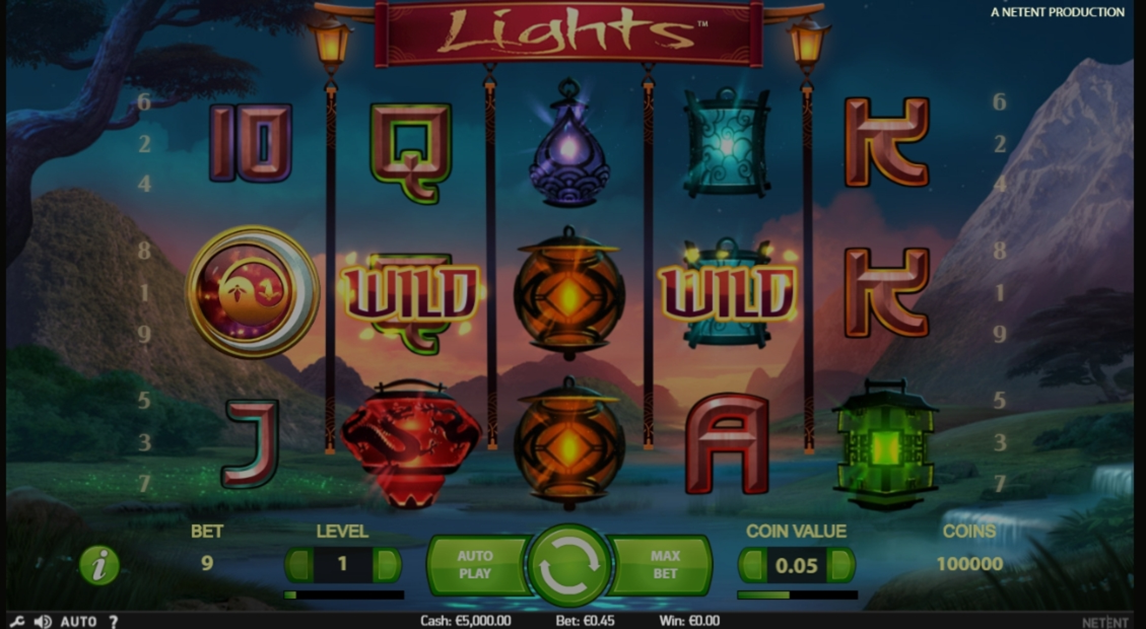 Reels in Lights Slot Game by NetEnt